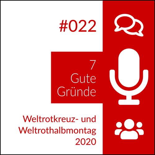 Weltrotkreuz- und Weltrothalbmontag 2020